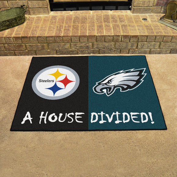 Steelers | Eagles | House Divided | Mat | NFL