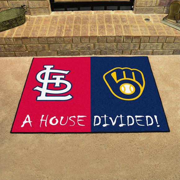 Cardinals | Brewers | House Divided | Mat | MLB