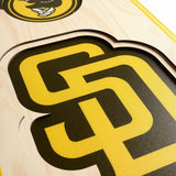 San Diego Padres | Stadium Banner | Home of the Padres | Wood
