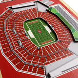 San Francisco 49ERS | Stadium Banner | Home of the 49ERS | Wood