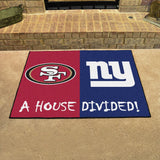 49ers | Giants | House Divided | Mat | NFL