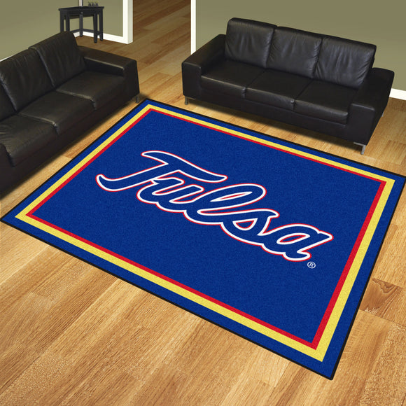 Tulsa Golden Hurricane | Rug | 8x10 | NCAA