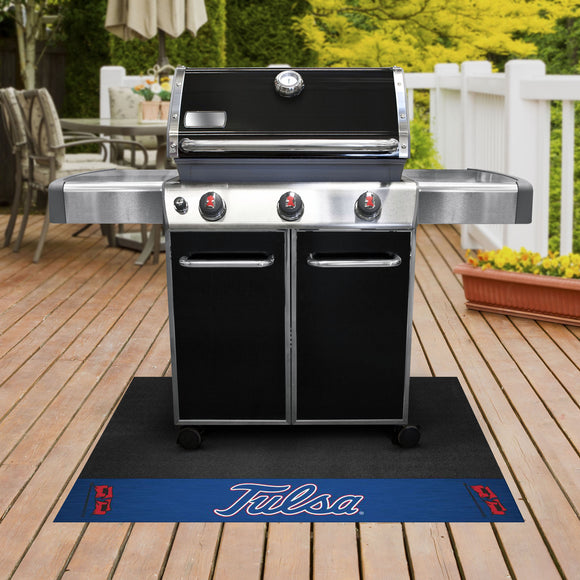 Tulsa Golden Hurricane | Grill Mat | NCAA