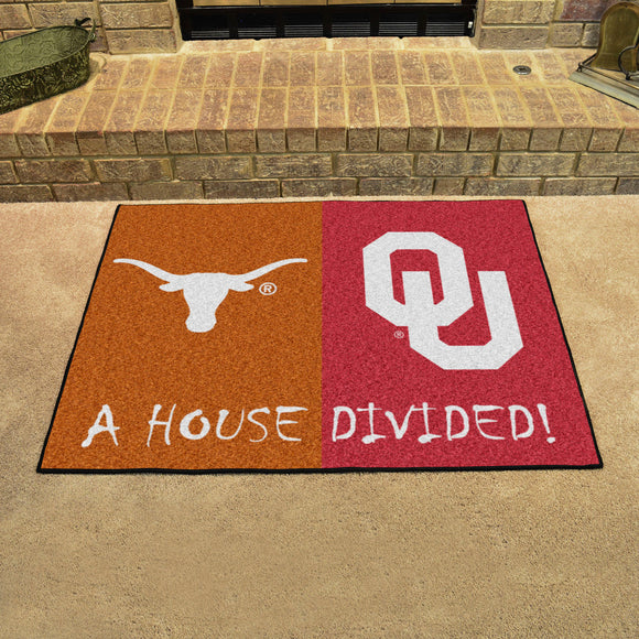 Longhorns | Sooners | House Divided | Mat | NCAA