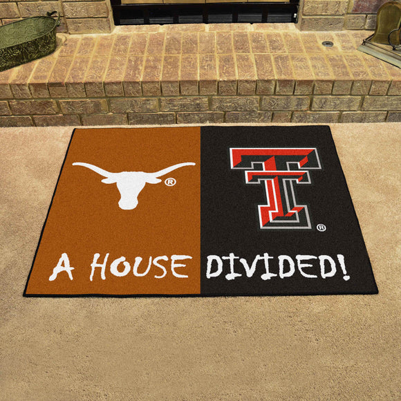 Longhorns | Red Raiders | House Divided | Mat | NCAA