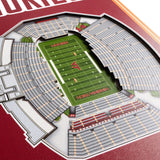 Virginia Tech Hokies | Stadium Banner | Lane Stadium | Wood