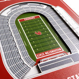 Washington State Cougars | Stadium Banner | Martin Stadium | Wood