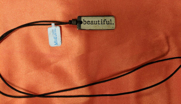 Necklace by MudLOVE | Beautiful | Multiple Band Colors | Stretchable Band