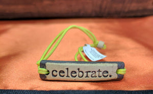 Bracelet by MudLOVE | Celebrate | Multiple Band Colors | Stretchable Band