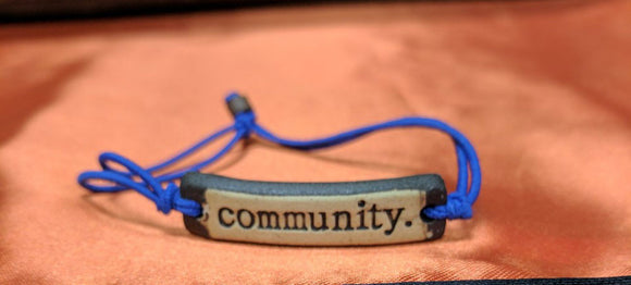 Bracelet by MudLOVE | Community | Multiple Band Colors | Stretchable Band