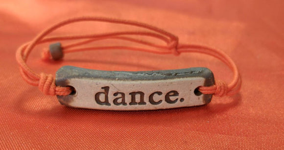 Bracelet by MudLOVE | Dance | Multiple Band Colors | Stretchable Band