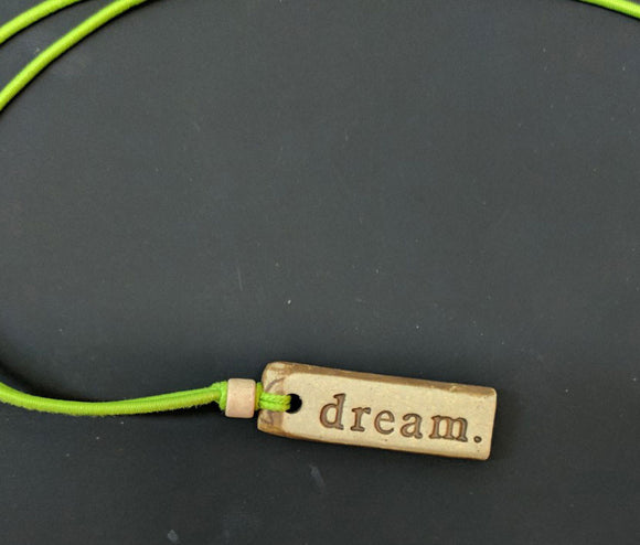 Necklace by MudLOVE | Dream | Multiple Band Colors | Stretchable Band