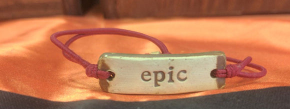 Bracelet by MudLOVE | Epic | Multiple Band Colors | Stretchable Band