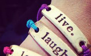 Bracelet by MudLOVE | Live | Multiple Band Colors | Stretchable Band