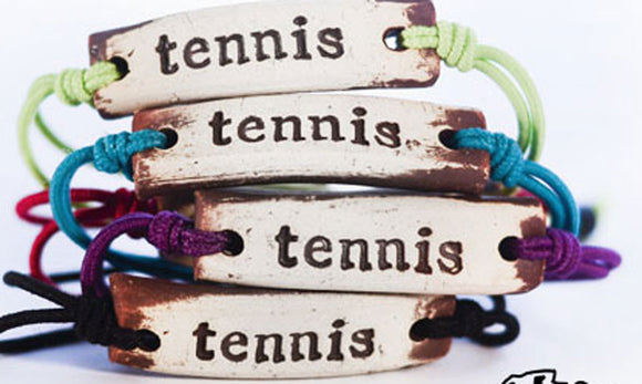 Bracelet by MudLOVE | Tennis | Multiple Band Colors | Stretchable Band