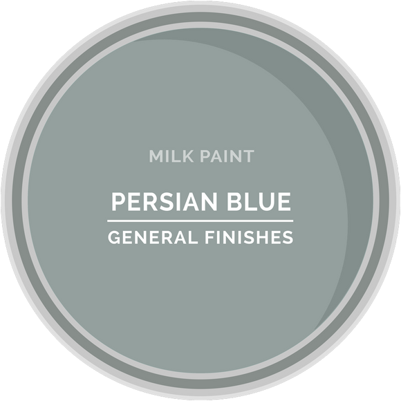 GENERAL FINISHES MILK PERSIAN BLUE PT