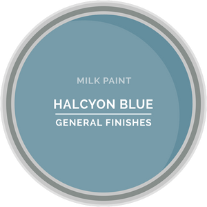 GENERAL FINISHES MILK PAINT HALYCON BLUE QT