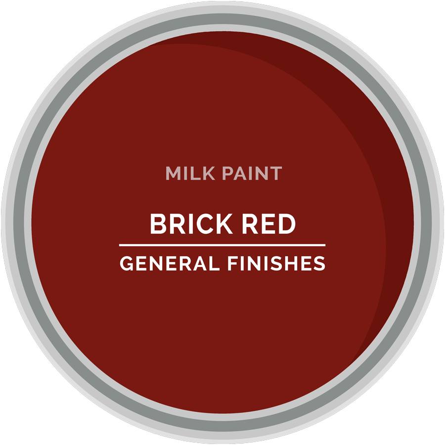 GENERAL FINISHES MILK PAINT BRICK RED PT
