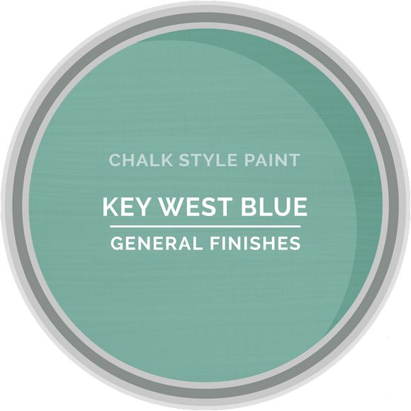 GENERAL FINISHES CHALK STYLE KEYWEST BLUE PT
