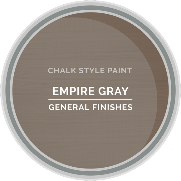 GENERAL FINISHES CHALK STYLE EMPIRE GRAY QT