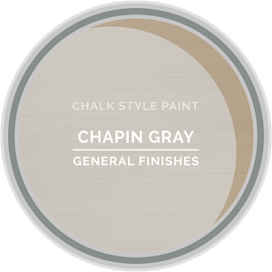 GENERAL FINISHES CHALK STYLE CHAPIN GRAY PT