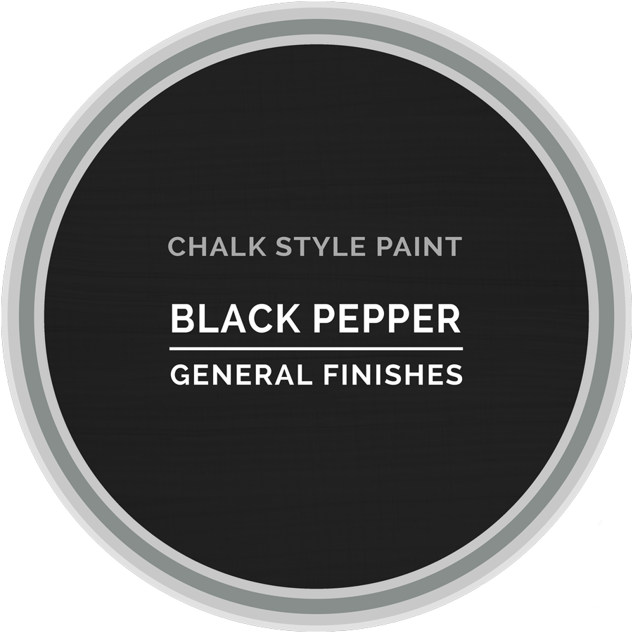 GENERAL FINISHES CHALK STYLE BLACK PEPPER QT