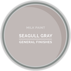 GENERAL FINISHES MILK PAINT SEAGULL GRAY QT