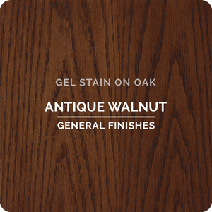GENERAL FINISHES 1/2 PT Gel Stain (Antique Walnut)
