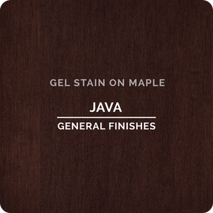 GENERAL FINISHES QT  Gel Stain (Java)