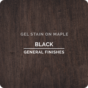 GENERAL FINISHES GEL STAIN: BLACK