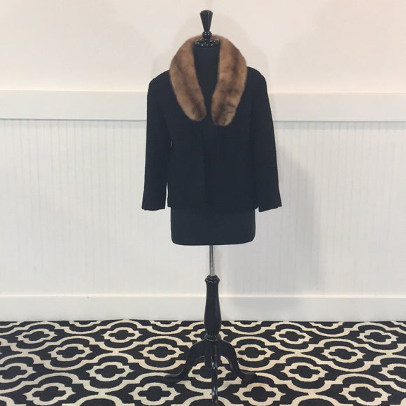 Vintage Wool & Mink Ladies' Jacket