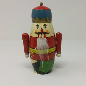 Vintage Nesting Christmas Soldier