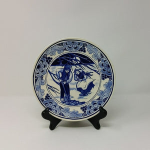 "Hans Brinker Delft Plate ""The Thousand Guilders"""
