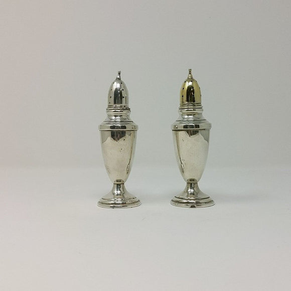 Set Sterling Salt & Pepper  Shakers