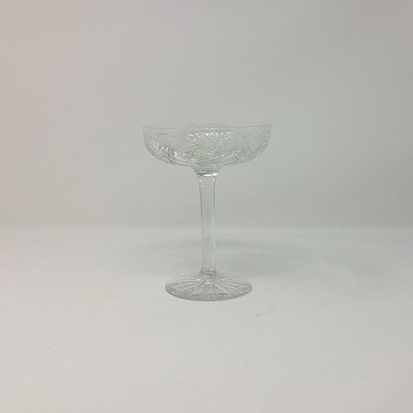 Vintage Cut Glass Pedestal Candy Dish