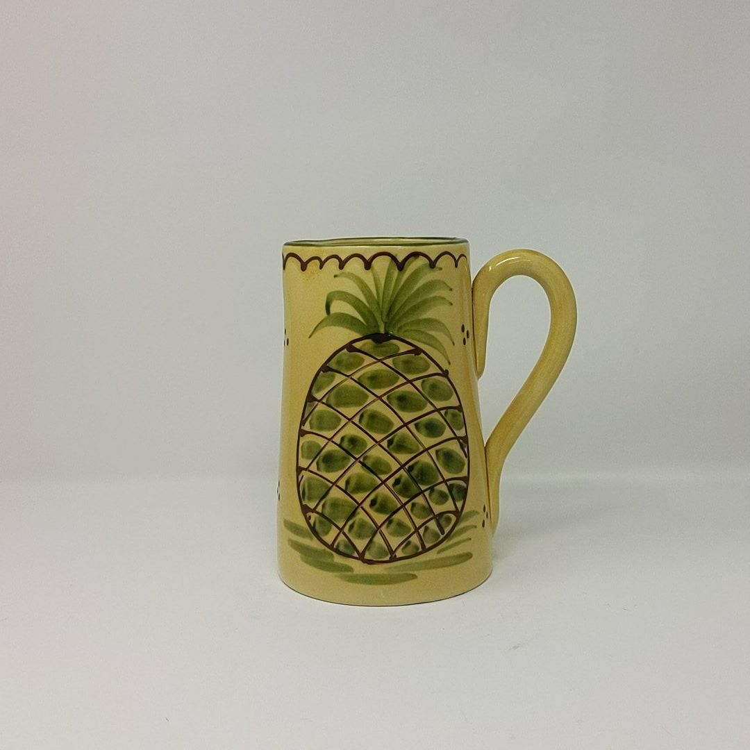 Vintage Ceramic Pitcher w/Pineapple