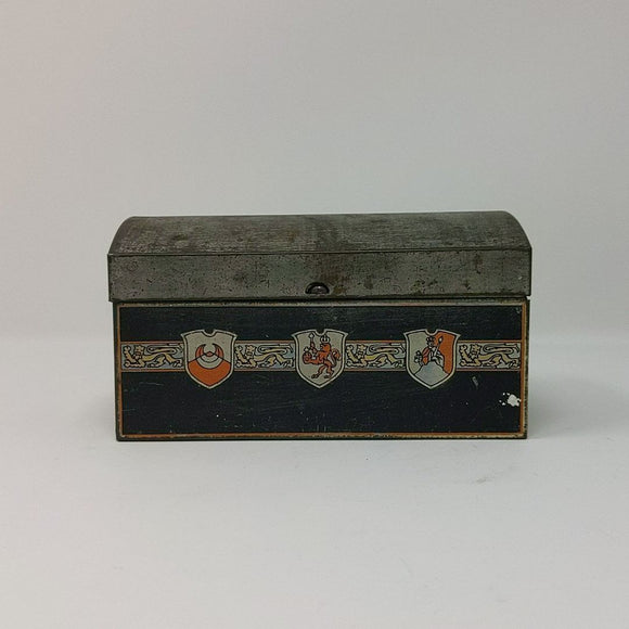 Antique Biscuit/Candy Tin
