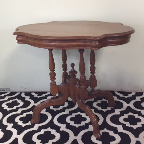 1800's Walnut Parlor Table