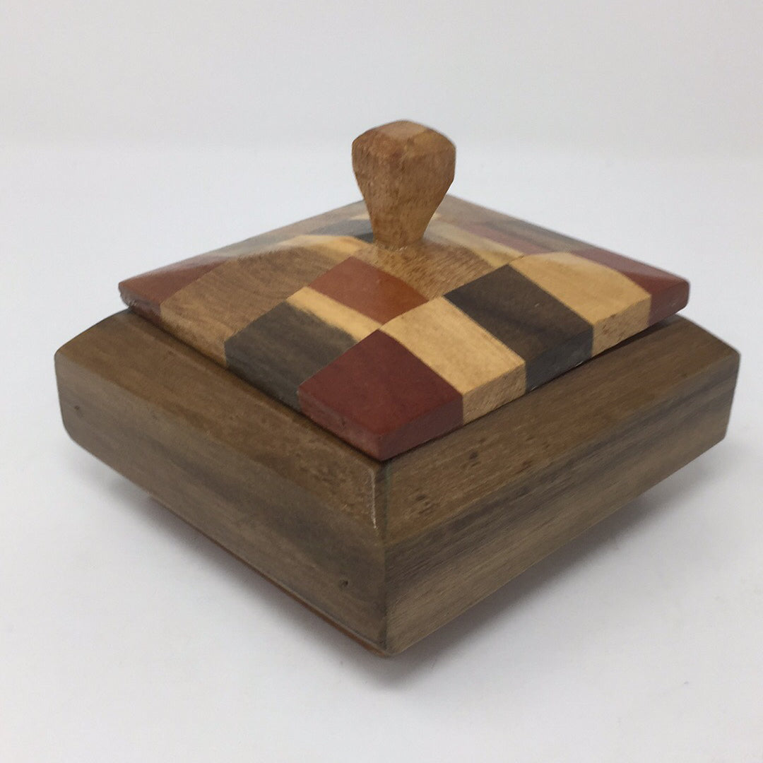Southwest Wooden Lined Box