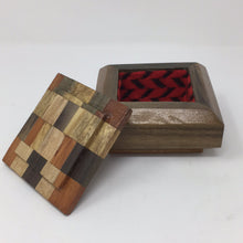 Load image into Gallery viewer, Southwest Wooden Lined Box