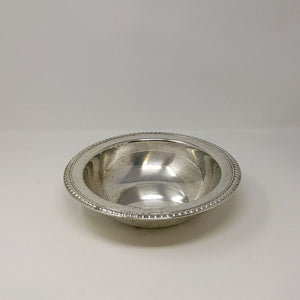 Silver Plated Round Fruit Bowl