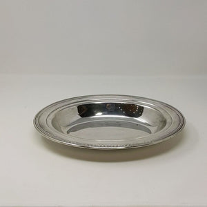 Vintage William Rogers Silver Plate Oval Bread Dish