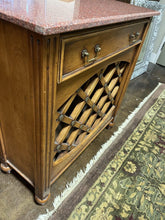 Load image into Gallery viewer, Wine Rack Cabinet with Marble Top