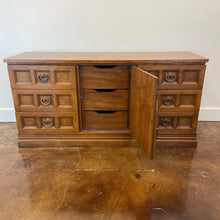 Load image into Gallery viewer, Stanley Oak and Walnut Credenza