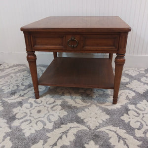 Heritage Banded Side Table