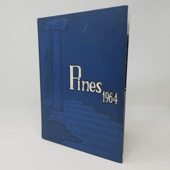 Pines 1964 Blue Yearbook