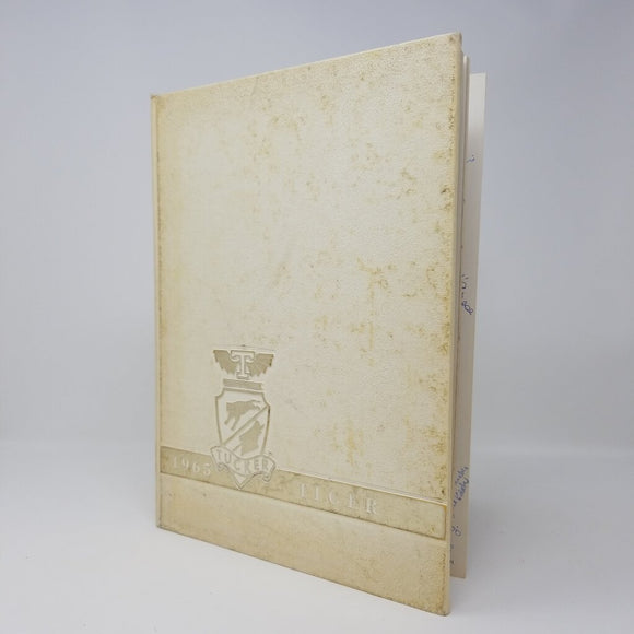 Tiger 1965 White & Gold Yearbook