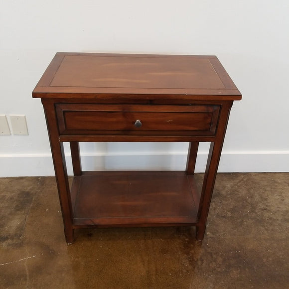 1 Drawer Wood Side Table