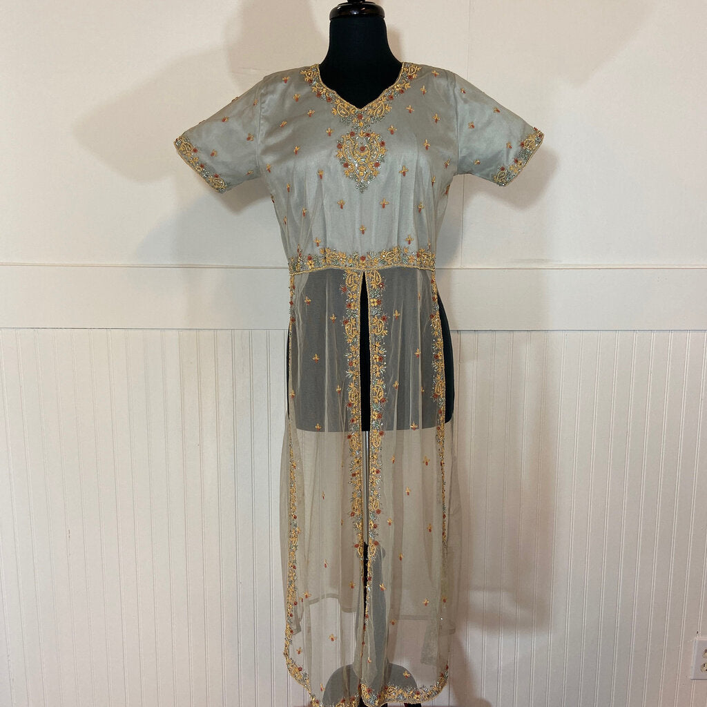 Vintage Beaded Indian Inspired Ladies Garment