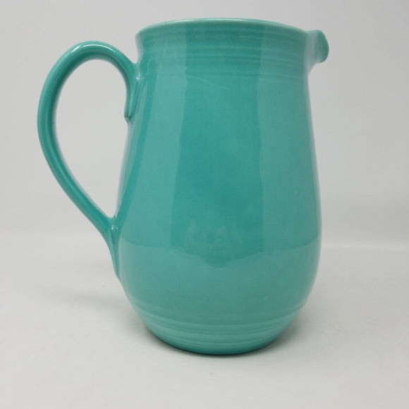 California Pottery Metlox Aqua Pitcher